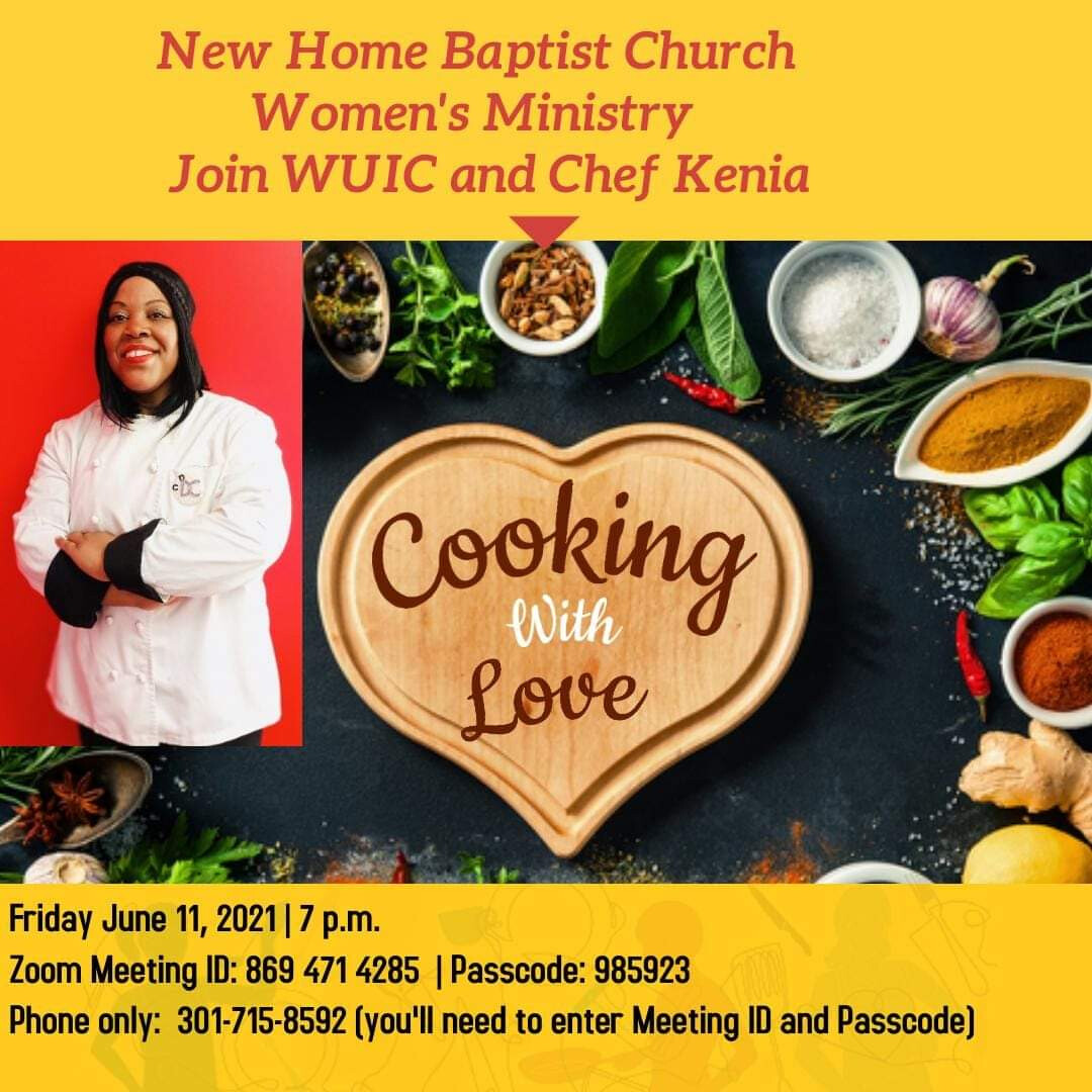 """WUIC & Chef Kenia """"Cooking With Love"""""""