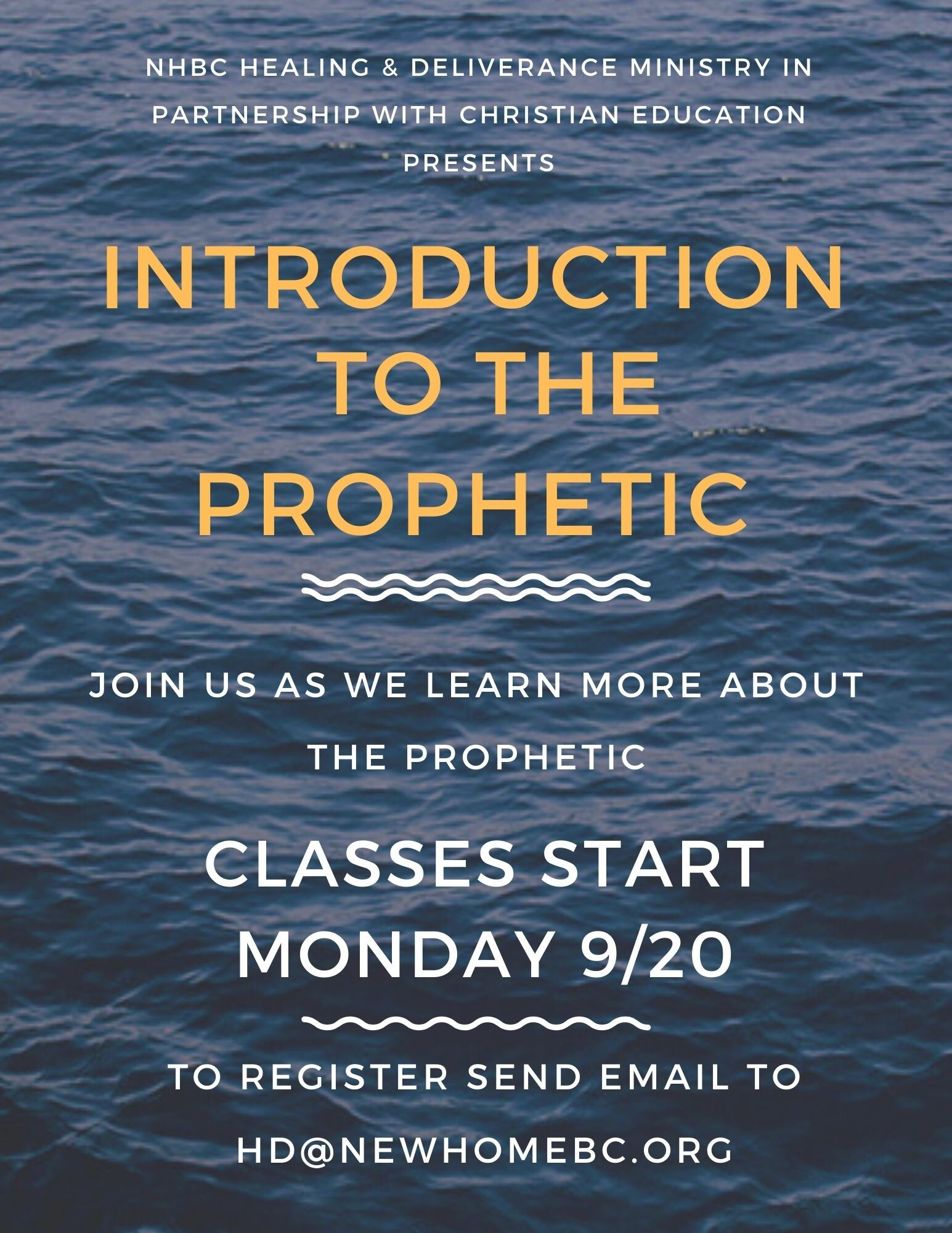 Healing & Deliverance - Introduction to the Prophetic
